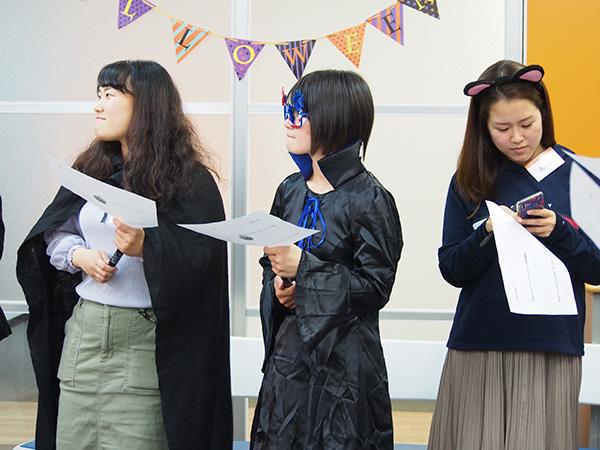 新宿教室ハロウィンパーティースタートです♪ ハロウィンイベント2019開催風景